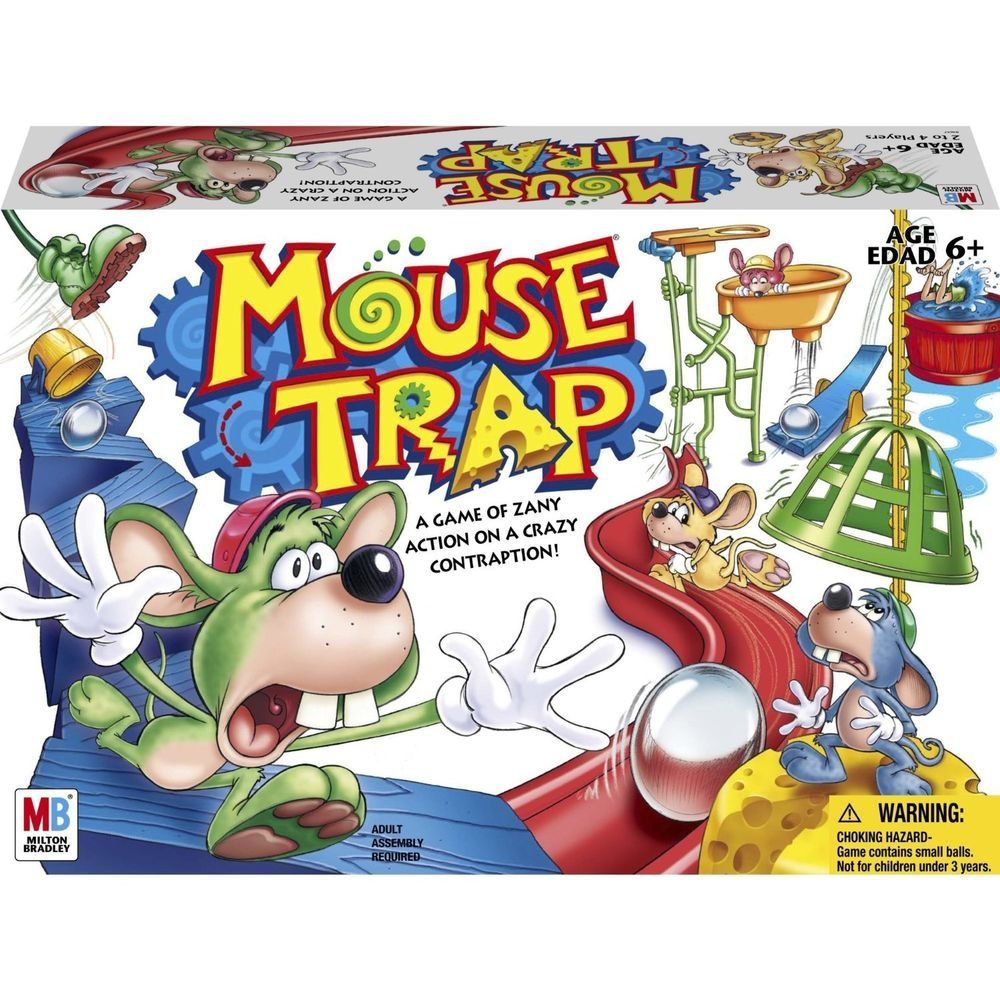 Hasbro Mouse Trap Game Hasbro (With images) Mouse trap