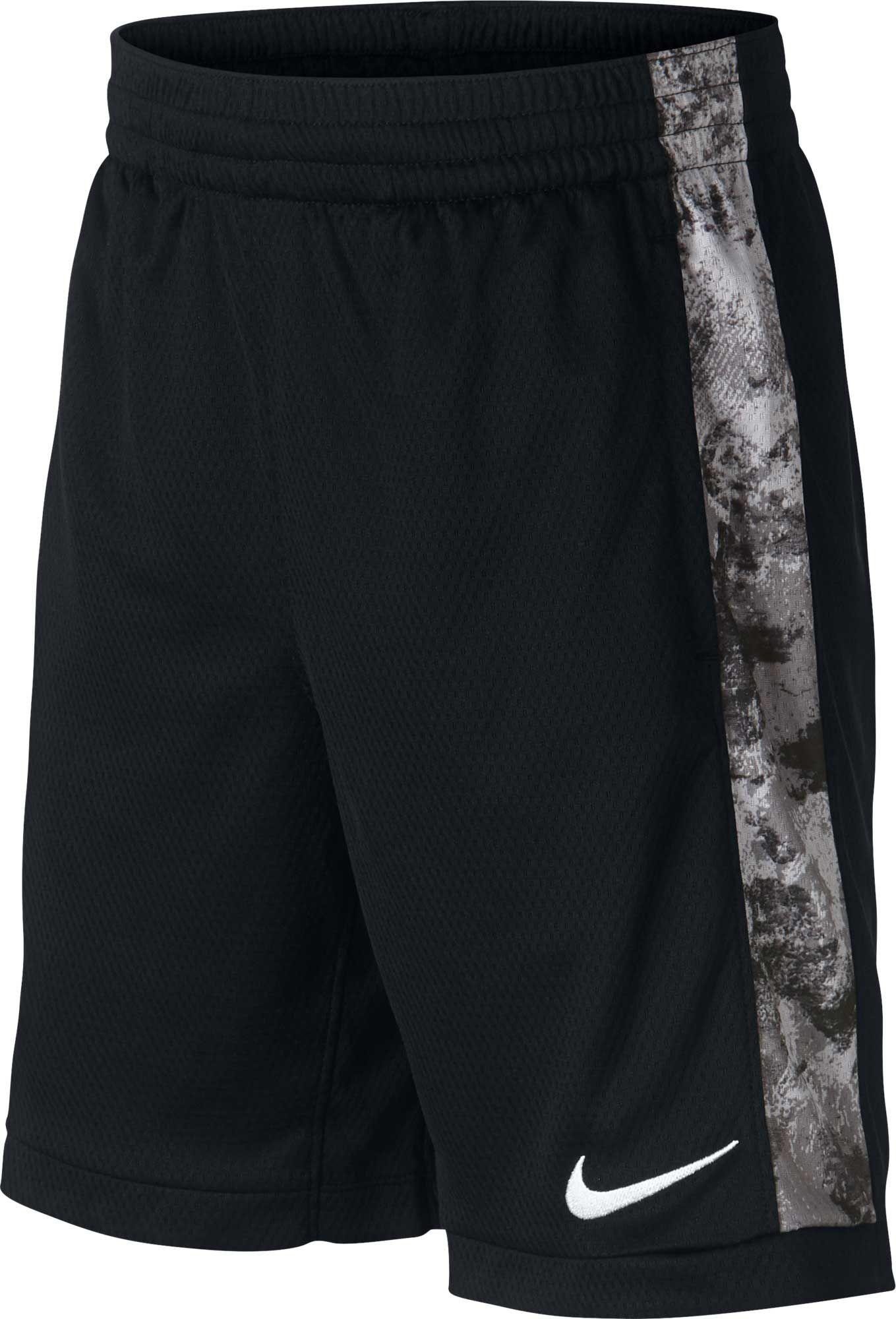 Nike Boys Trophy Dri Fit Novelty Shorts Size Medium Black Boys Nike Shorts Boys Short Outfits Summer Shorts Outfits