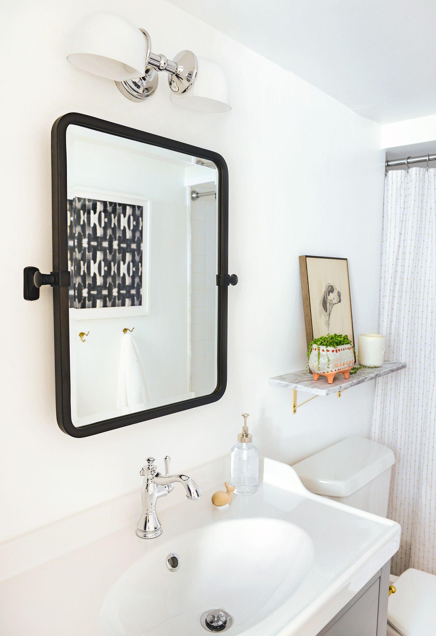 The Garden Bathroom Makeover! (Yellow Brick Home) | Garden bathroom ...