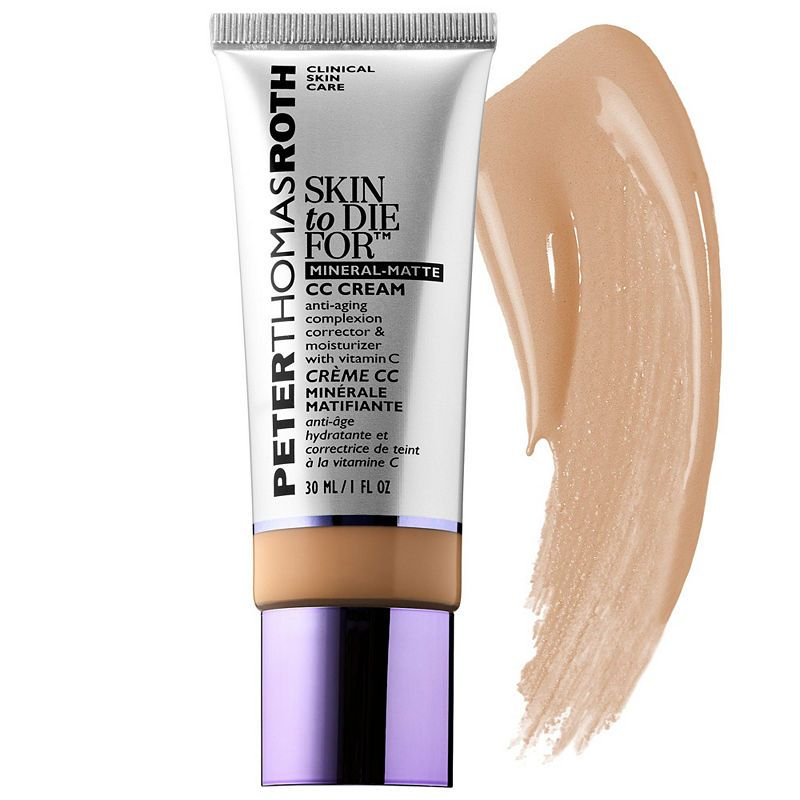 Peter Thomas Roth Skin To Die For Mineral Matte Cc Cream Spf 30 Cc Cream Mineral Sunscreen Cream Oil