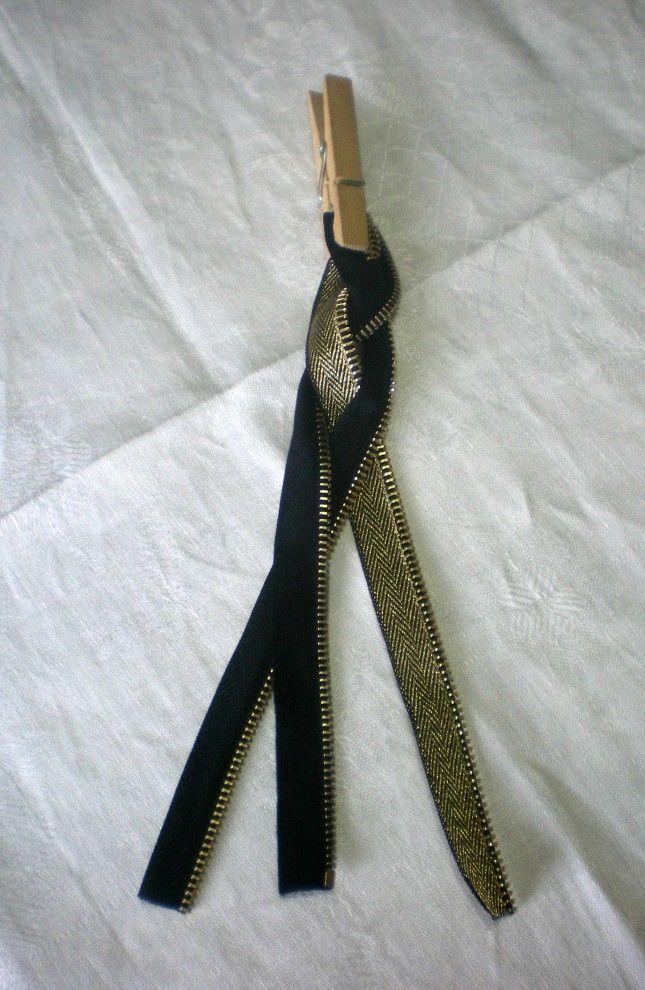 zipper bracelet how to_2