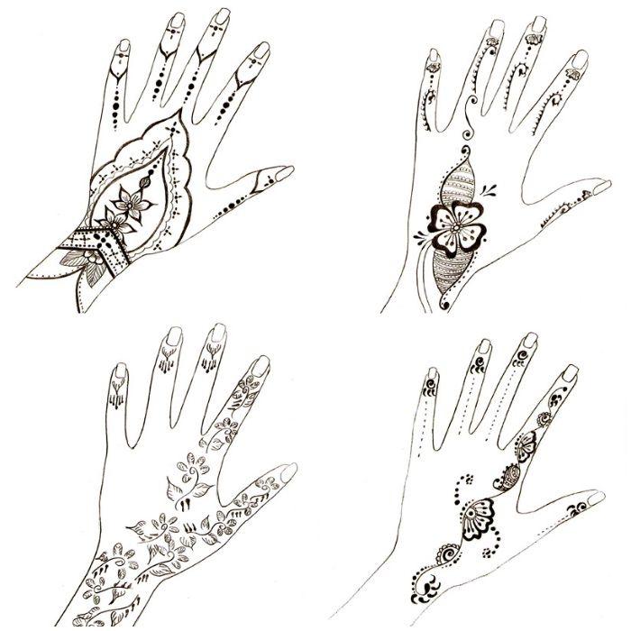 ▷ 1001 + Ideen, wie Sie ein Henna Tattoo selber machen | Tattoo ...