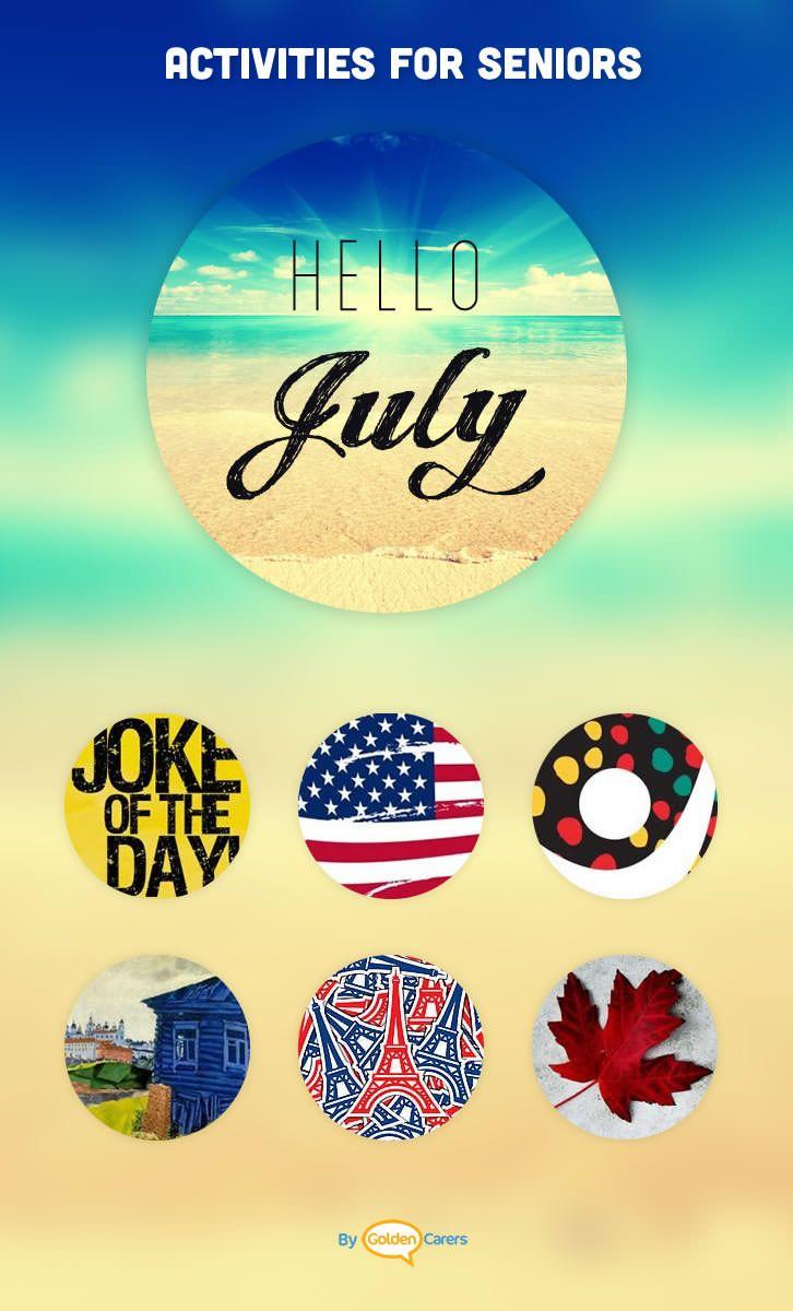 july events & ideas | senior center | pinterest | activities