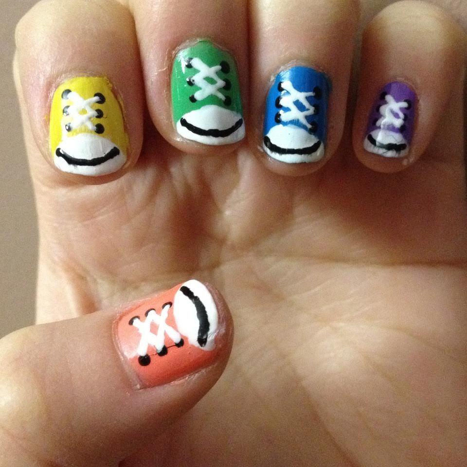 All stars nail art pinterest