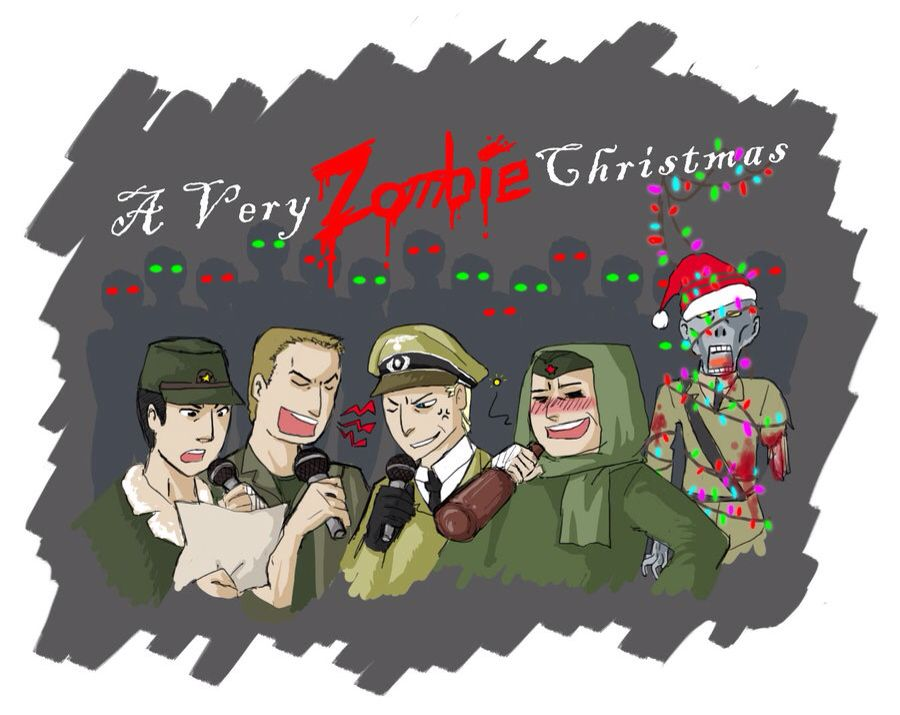 COD A Very Zombie Christmas | Call of Duty | Pinterest | Zombie ...