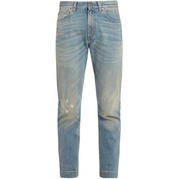 straight-leg jeans - Blue Gucci
