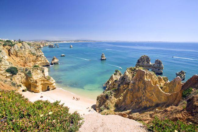 Las 50 Mejores Playas De Portugal Praia Do Camilo Praia Algarve
