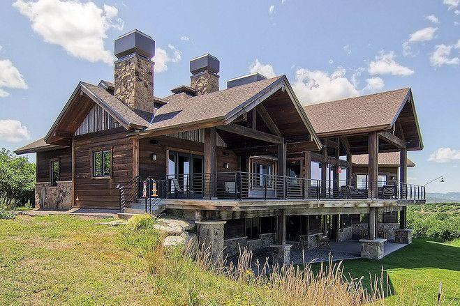 Colorado ranch escape house of the day photos ranch for Ranch style homes in colorado