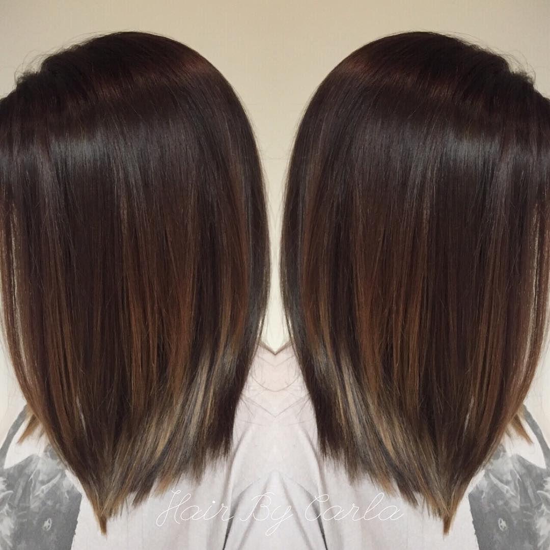 Image Result For Balayage Dark Brown Straight Hair Hair Styles Balayage Straight Hair Balayage Hair
