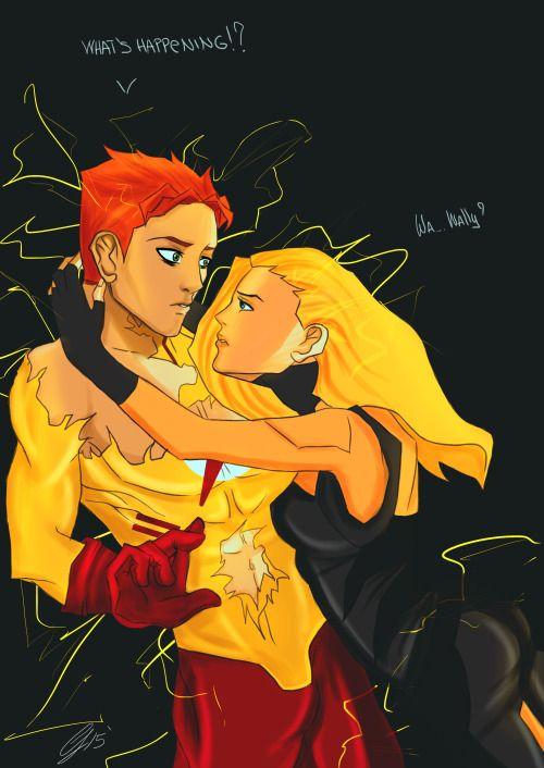 Kid Flash X Artemis Young Justice - Wally ...