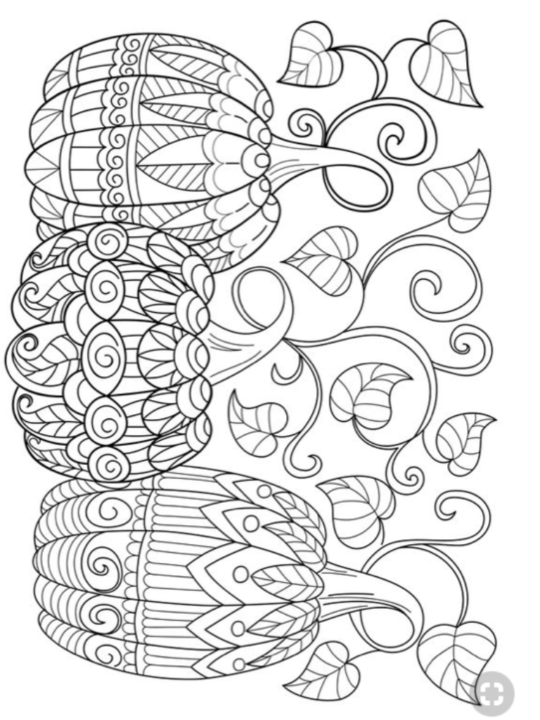 Pin By Pat Rucker On Zentangles Free Halloween Coloring Pages Fall Coloring Pages Pumpkin Coloring Pages