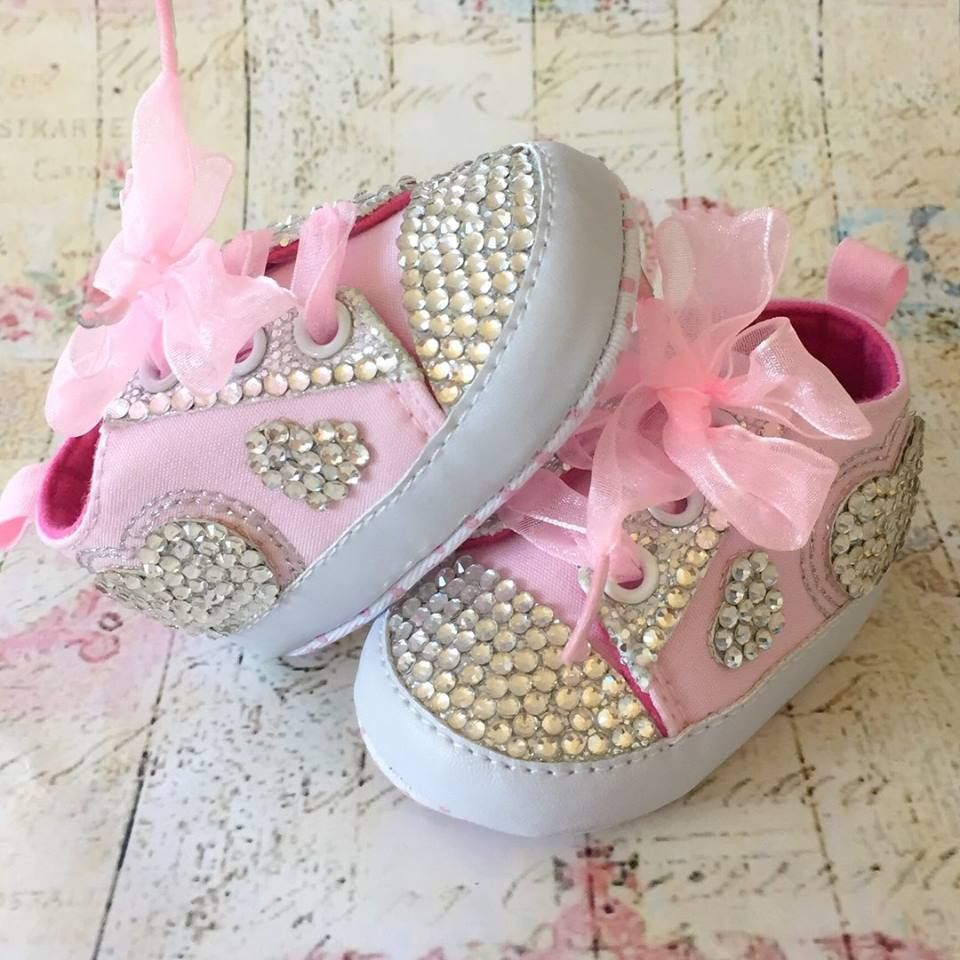 9eb2f1aa5c1 Βρεφικά παπουτσάκια με στράς Pink 💎💎💎 μεγέθη | Βρεφικά ...