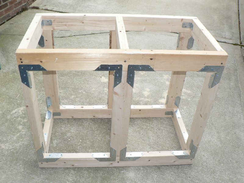 Amazing Diy Aquarium Stand Part - 3: I Was Originally Going To Purchase An All Glass Tank Stand For A 40 Gallon  Breeder Aquarium X X That I Am Putting Together.