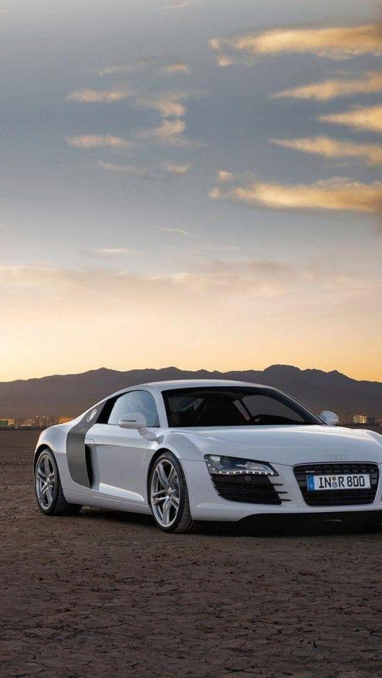 Audi R8 Blanche Voitures De Sport Voitures De Sport De