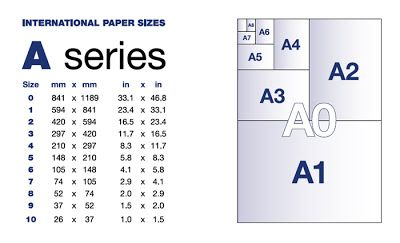 Teresa Crafts A Simple Guide To Paper And Card Sizes Paper