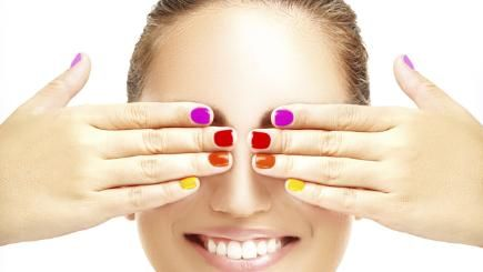 Can The Right Nail Polish Make Your Hands Look Younger Younger Skin Dark Spots On Skin Look Younger