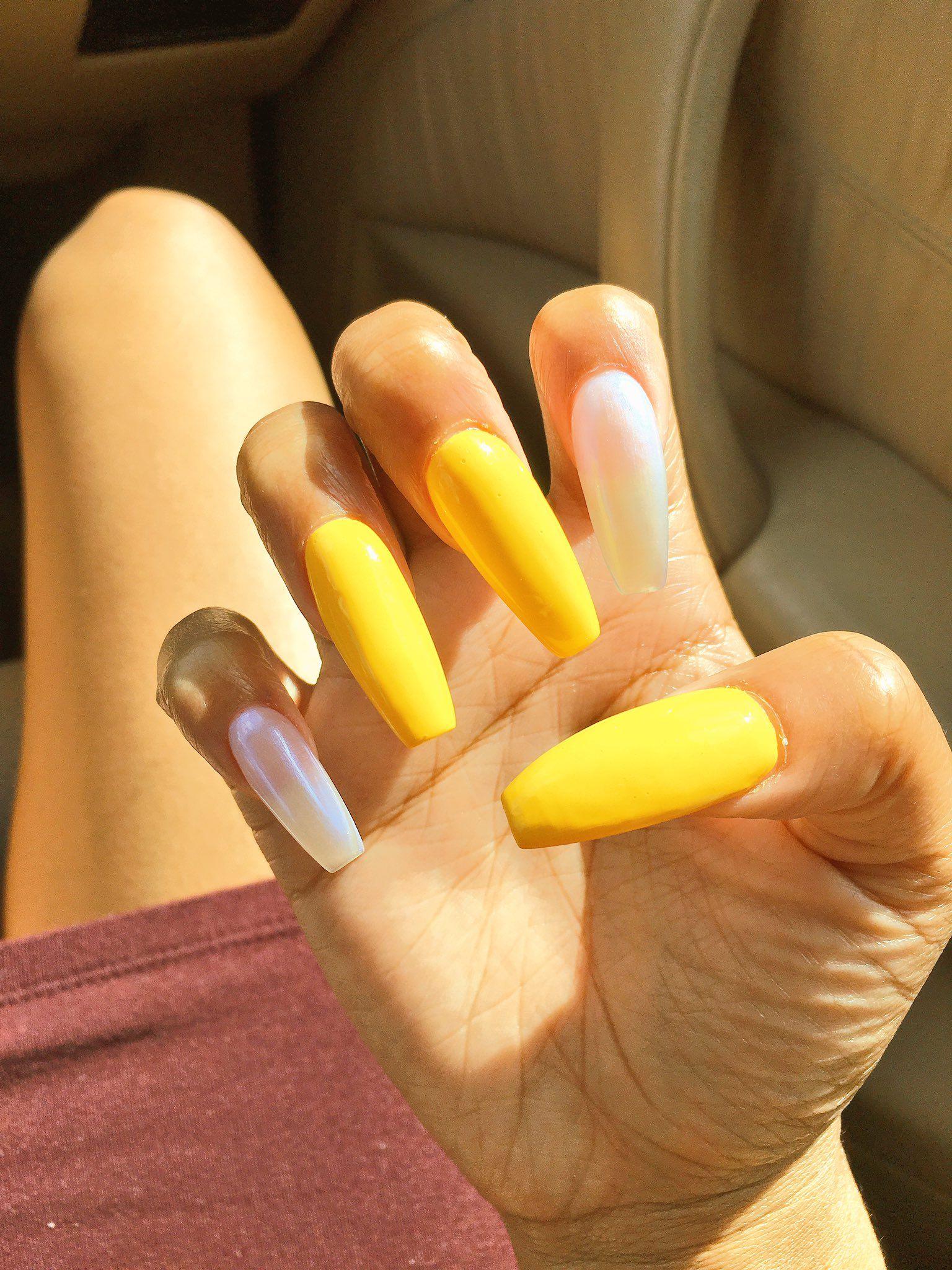 Reader Nail Art Week: Nails, Sexy Nails, Yellow Nails