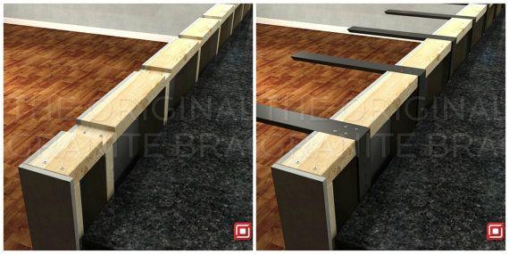 Countertop Support Bracket L-bracket counter top corbel | DIY ...