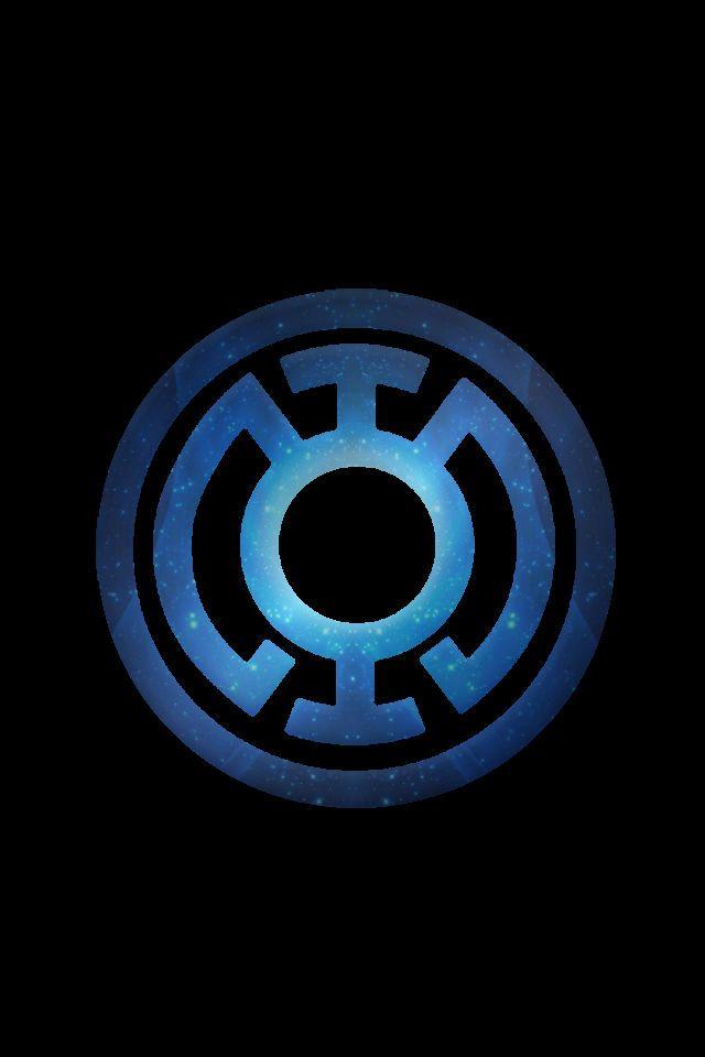 Stary Blue Lantern Logo Background By Kalel7 On Deviantart Symbols