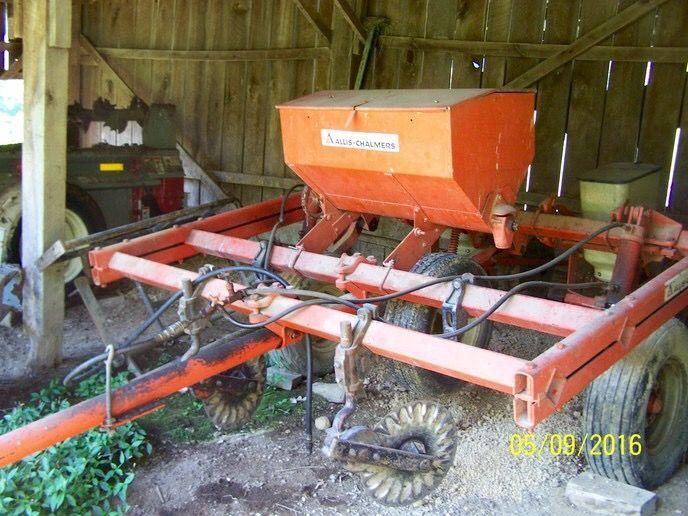 Allis Chalmers 2 Row No Till Planter Allis Chalmers Tractors