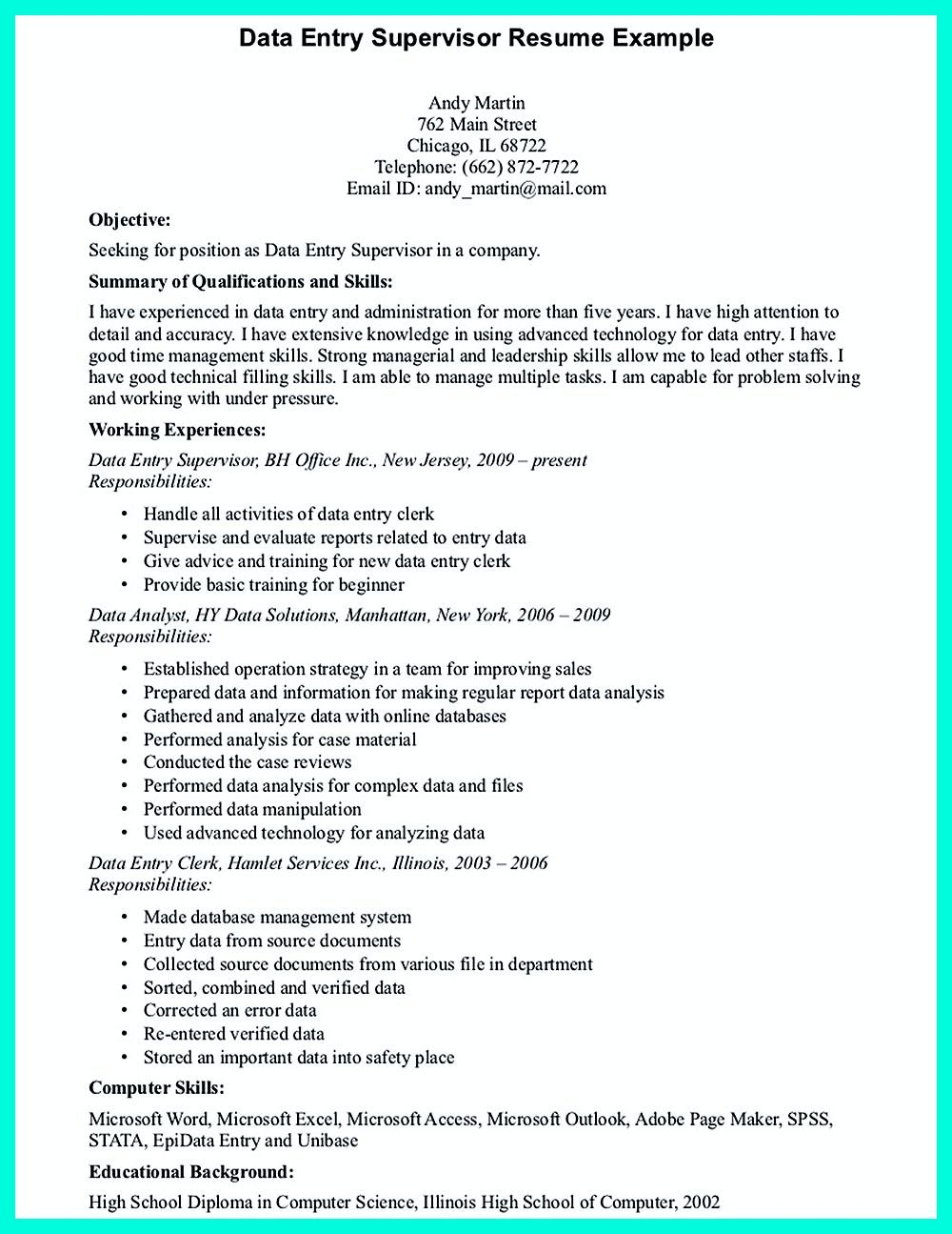 18+ Data entry resume objective ideas in 2021
