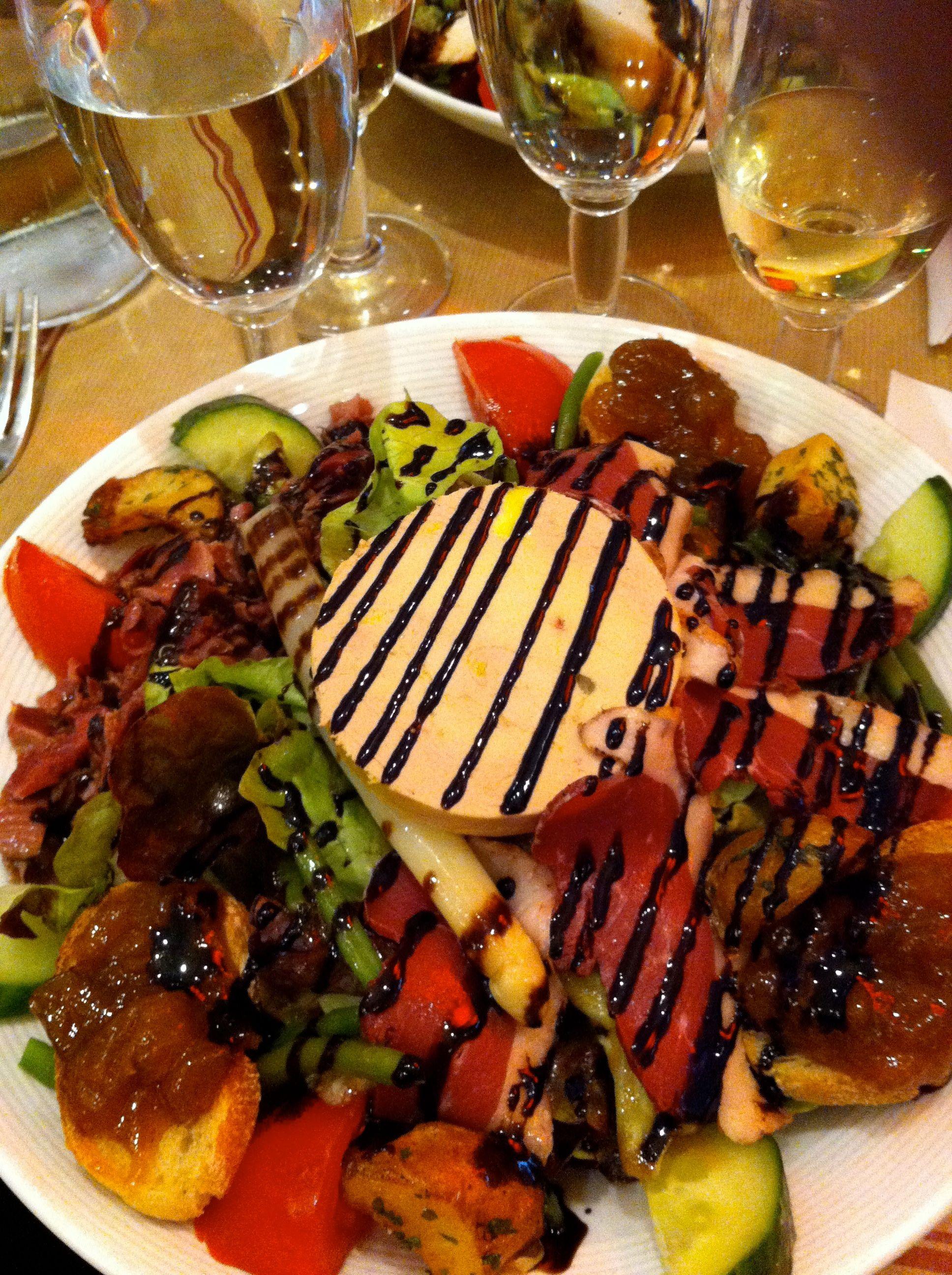 Salade perigourdine cuisine pinterest salades repas for Pinterest cuisine noel