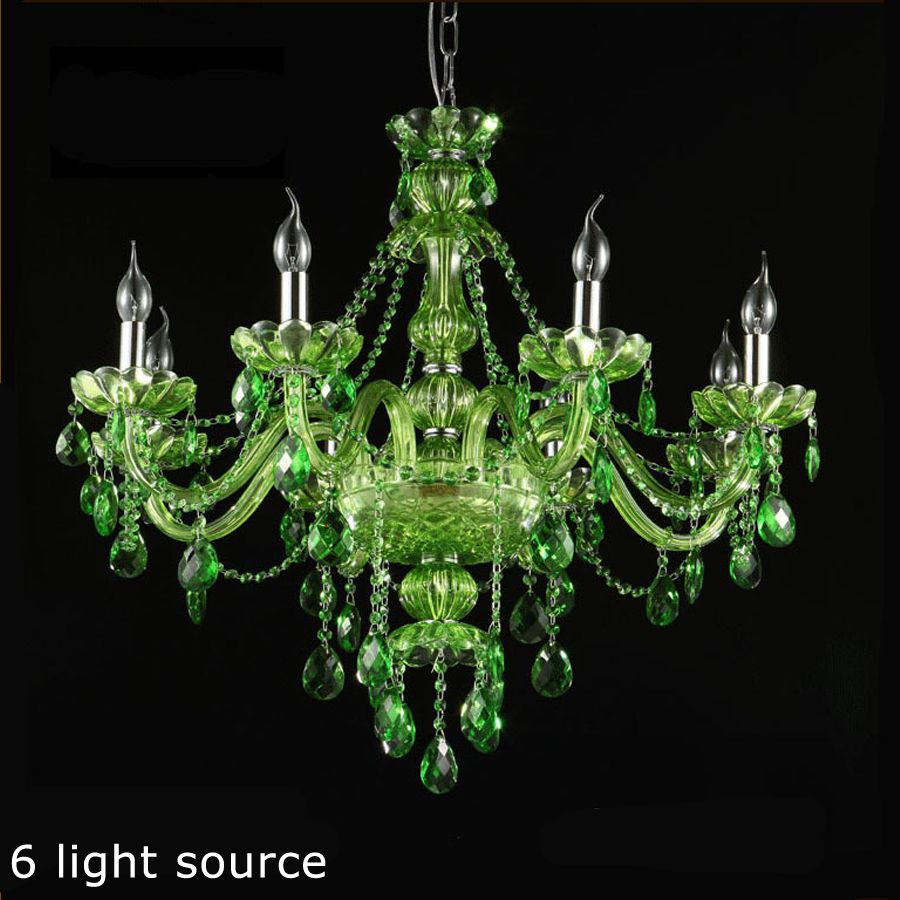 New green crystal 6810 light chandelier home lighting chandeliers new green crystal 6810 light chandelier home lighting chandeliers restaurant hotel chandeliers arubaitofo Image collections