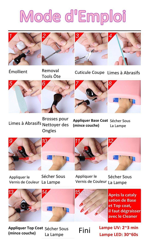 Perfect Summer Vernis à Ongles Semi Permanent UV LED Soak