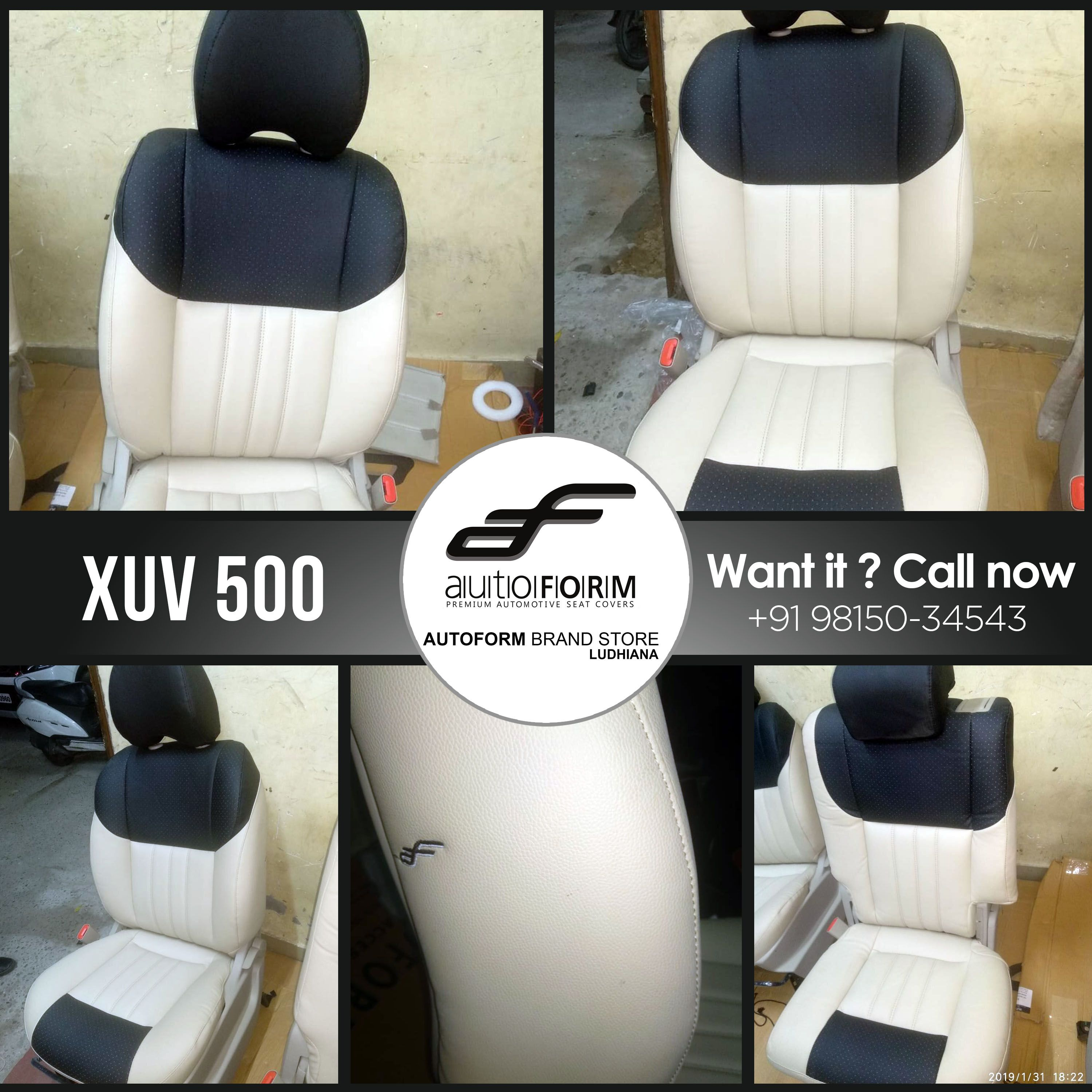 Mahindra Xuv 500 Is All Ready To Fit In With The Braded Autoform Car Seat Covers Style So Premium And Looks So Classy Riv Carseat Cover Car Seats Seat Covers
