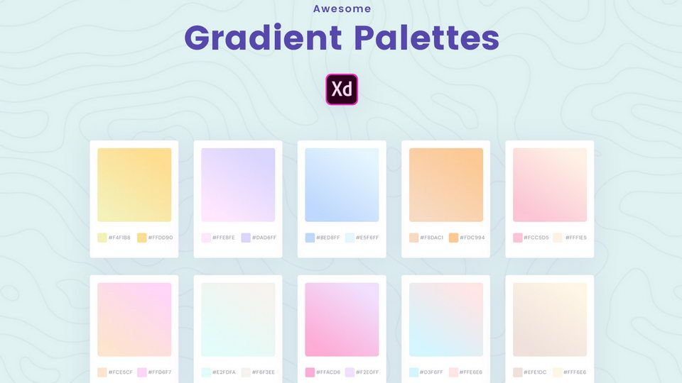 Pastel Gradients XD | Pastel gradient, Templates free ...