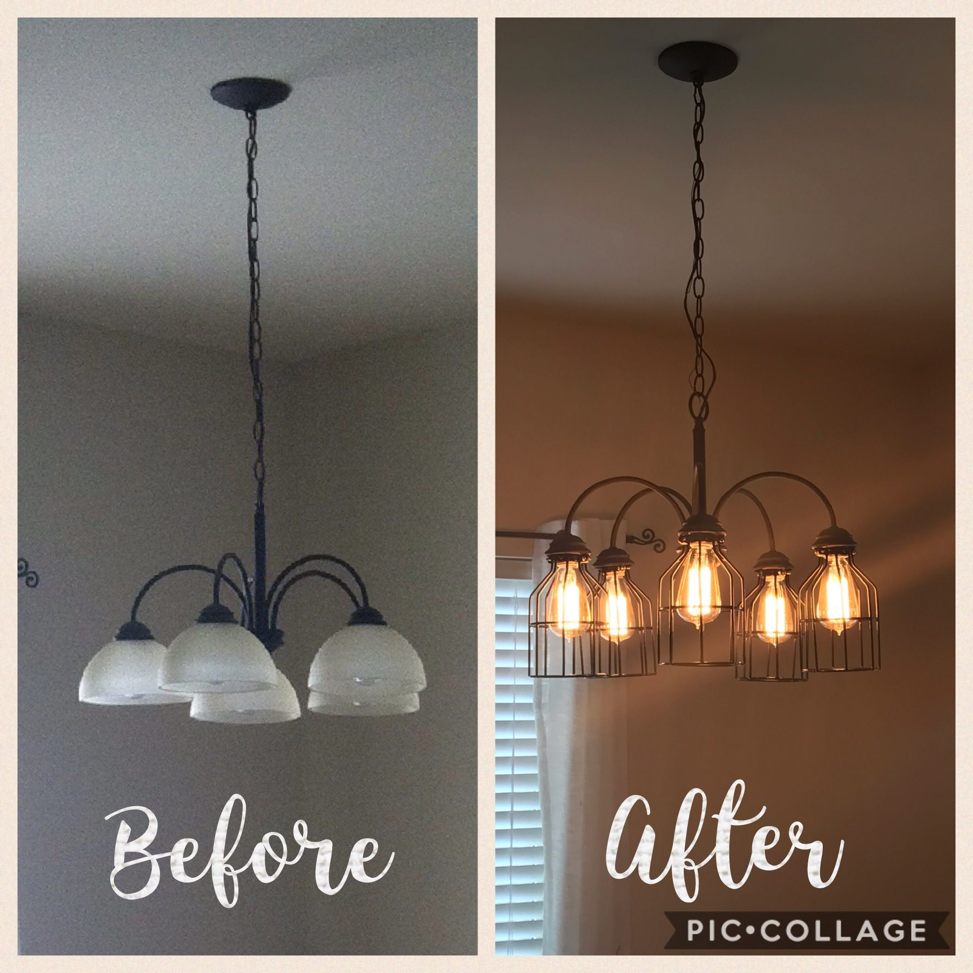 Chandelier Makeover Chandelier Makeover Diy Pendant Light Diy