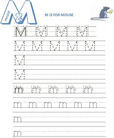Pin by Cynthia Nance on Pre-School | Letter m worksheets, Writing ...