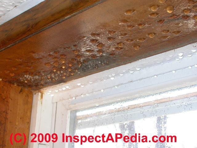 Beautiful Condensation In Basement