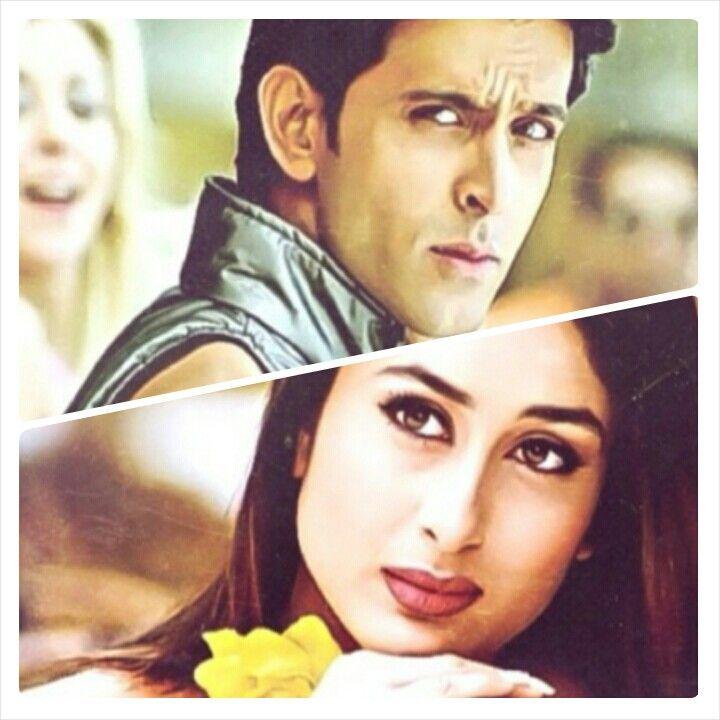 Kareena Kapoor And Hrithik Roshan In Deewana Hai Dehko Kabhi Khushi Kabhi Gham Hrithik Roshan Most Handsome Men Clueless Outfits