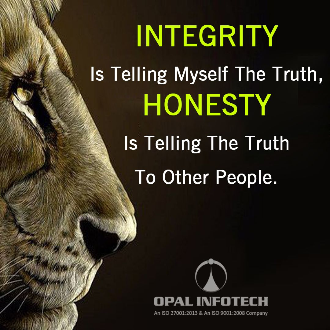 Thought On Honesty