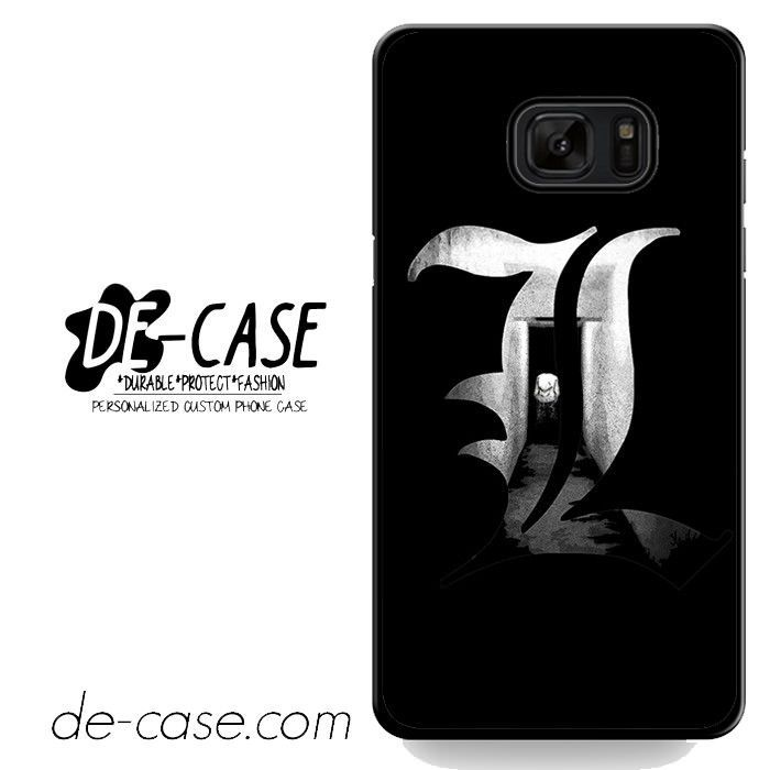 Death Note L DEAL-3113 Samsung Phonecase Cover For Samsung Galaxy Note 7