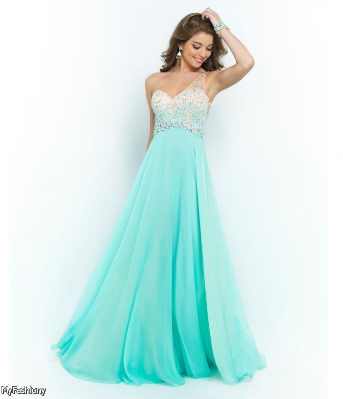 One shoulder prom dresses 2016