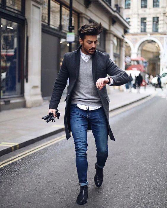 Moda Para Hombres Otono Invierno Tendencias 2019 2020 Ropa De Hombre Casual Elegante Ropa Casual De Hombre Estilo De Ropa Hombre