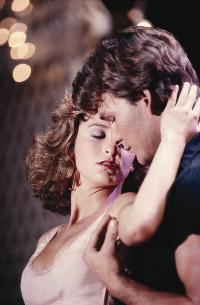 Patrick Swayze Jennifer Grey From The Film Dirty Dancing Dirty