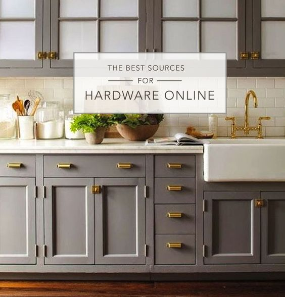 Best Online Hardware Resources The Of Inerior Design In 2017 Kitchen Cabinetsgray