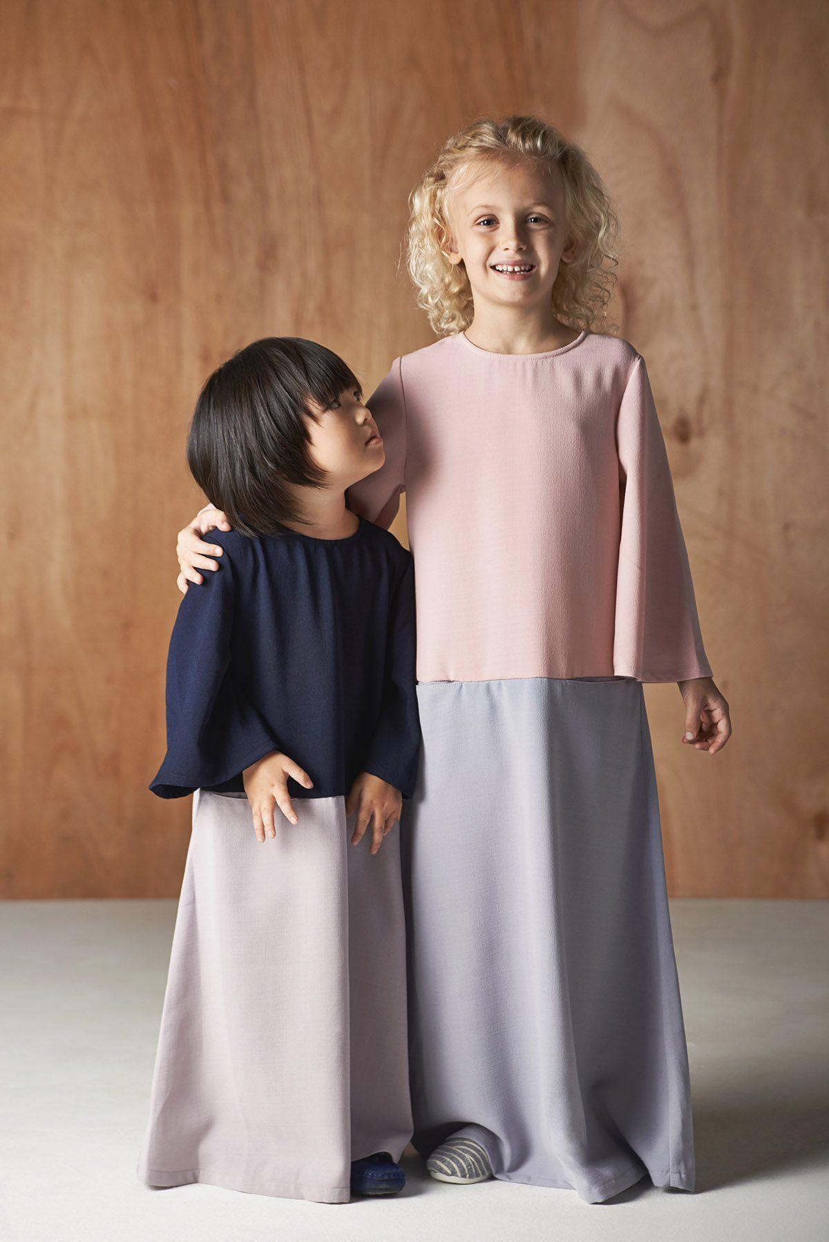 KIDS GIRLS  ABAYAJILBAB JALABIYAMOSQUEMADRESSAHISLAMIC CLOTHING