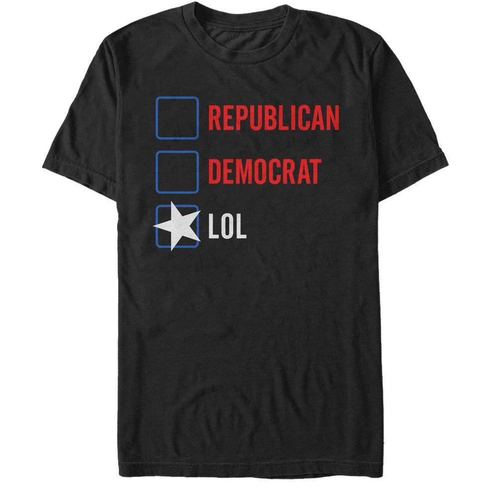 Lost Gods - Vote LOL Adult Regular Fit T-Shirt