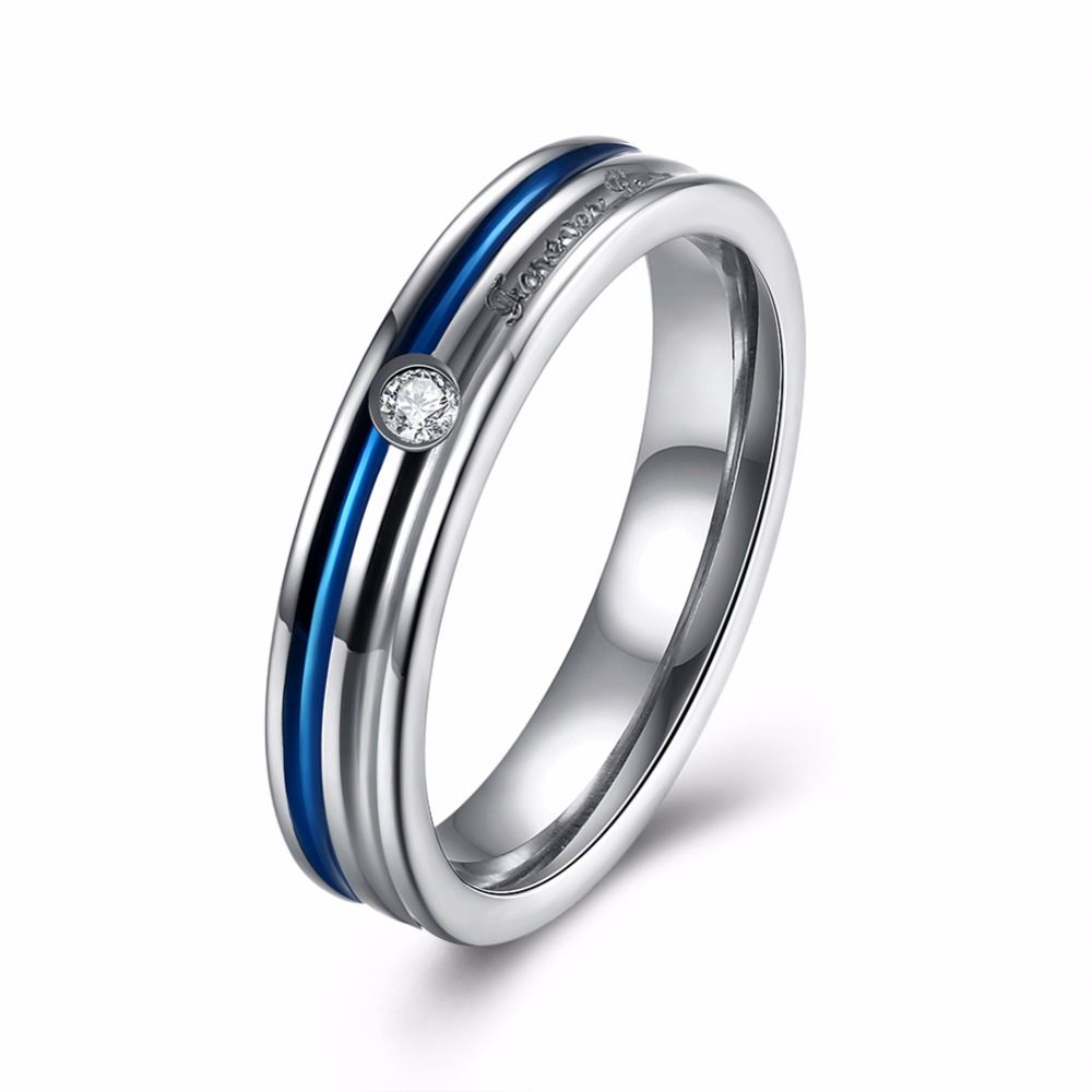 Tuker Design Inlaid Round Ring Zircon Elegant Wedding Rings For Women Exquisite Bridal Engagement Finger