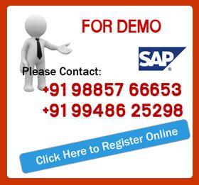 SAP online training.