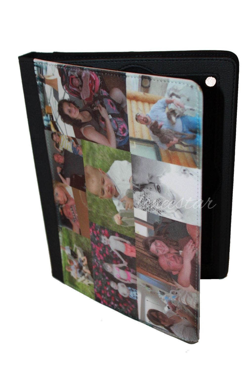 PERSONALIZED iPAD COVER- Great Gifts-Custom Designs-Personalized Photo iPad Case- Leather Covers for any iPad. $34.99, via Etsy.