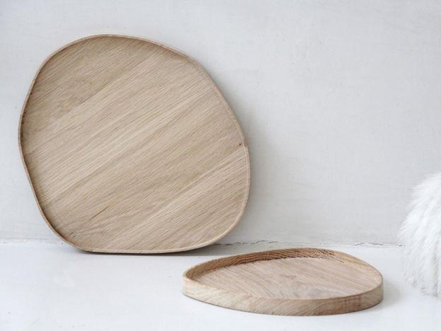 "Moodboard ""White and Wood"" by the Interior-Design-Magazin www.leuchtend-grau.de"