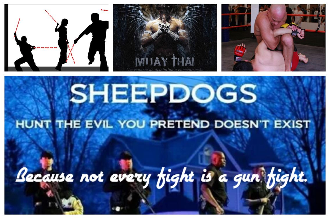 If you HAVE to fight, you HAVE to win! #noexcuses #sheepdogs #LEO