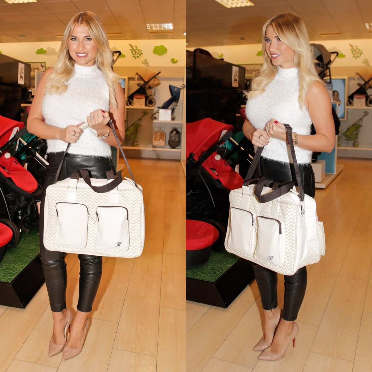 540ded305feb4 My Babiie Billie Faiers Deluxe Baby Changing Bag | my baby | Baby ...