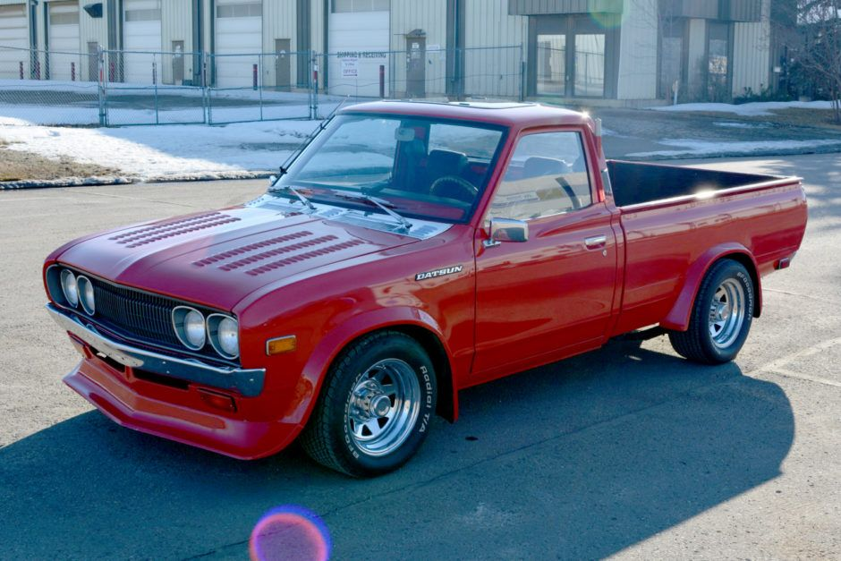 1974 Datsun 620 Pickup Datsun Pickup Datsun Custom Wheels Trucks