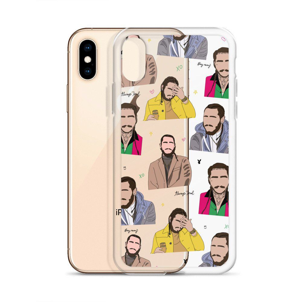 sale retailer b4b10 4cc31 Post Malone Post Malone Cases For iPhone 6 6S 7 8 Plus X 10 XR XS ...